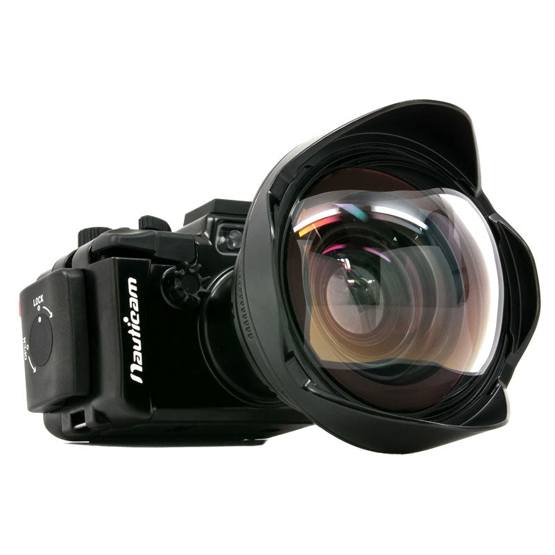Nauticam Wet Wide Lens 1 (WWL-1) 130 deg. FOV with compatible 28mm Lenses