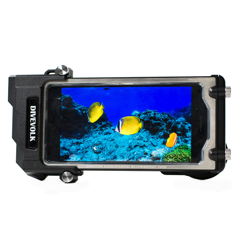 DIVEVOLK SeaTouch 2 Pro Underwater Phone Housing with Touchscreen