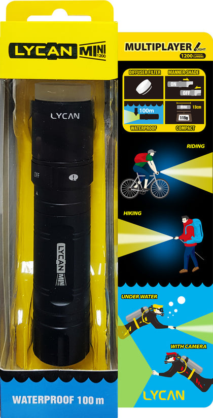 Lycan MINI1200 Flashlight