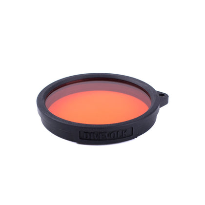 DIVEVOLK Red Filter for Wide-Angle Lens