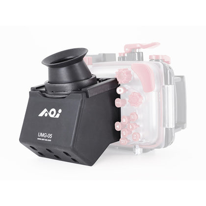 AOI Underwater LCD 90 Degree Viewer for Olympus Compact, Fantasea, AOI Camera Housings