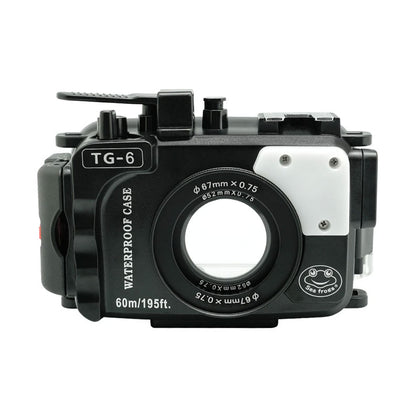 Seafrogs Olympus TG-6 60m/195ft SeaFrogs Underwater Camera Housing (Black Only)