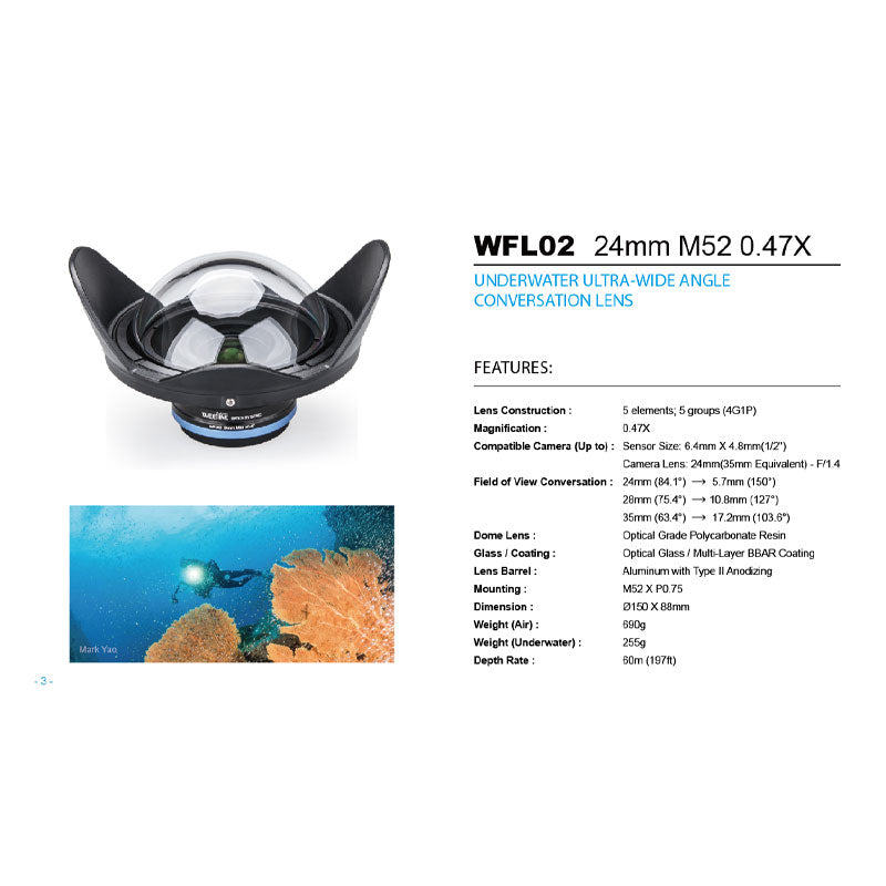 Weefine WFL02 Ultra Wide-Angle Lens