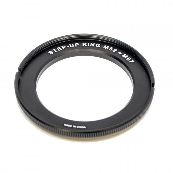 AOI Step Up Ring M52 to F67