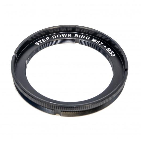 AOI Step Down Ring M67 to F52