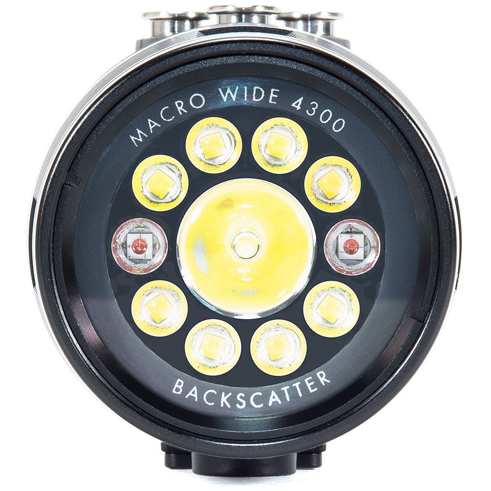 Backscatter Macro Wide 4300 Underwater Video Light MW-4300