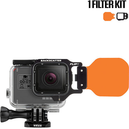 Backscatter FLIP7 One Filter Kit with DIVE Filter for GoPro 3, 3+, 4, 5, 6, 7