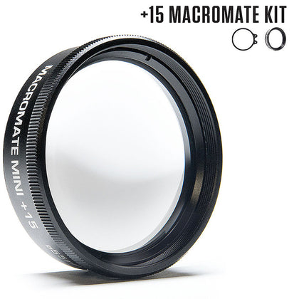 Backscatter +15 MacroMate Mini Underwater Macro Lens for GoPro 3, 3+, 4, 5, 6, 7