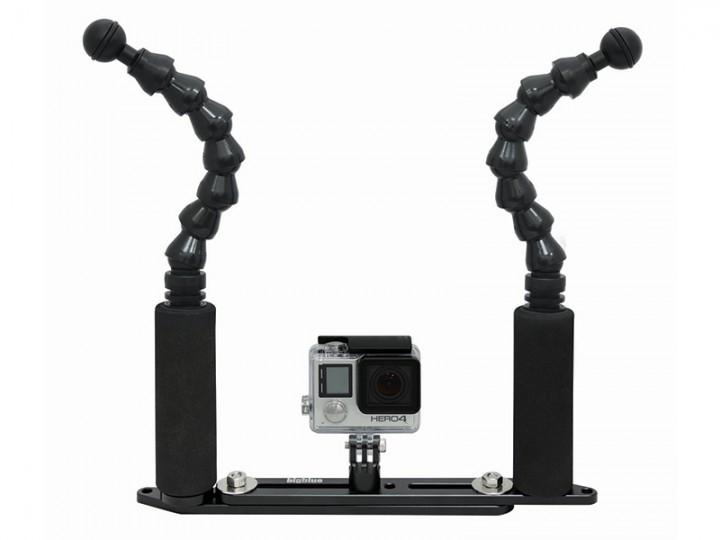 Bigblue GoPro/ Camera Tray with Flexi Arm