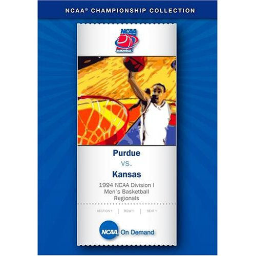 1994 NCAA Division I Men's Basketball Regionals: Purdue vs. Kansas