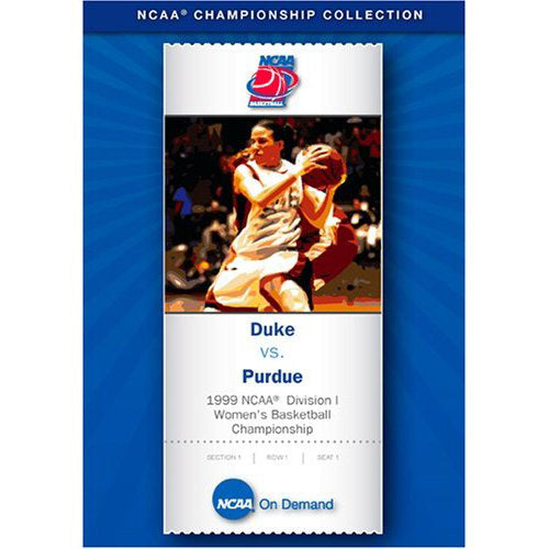 1999 NCAA Division I Women's Basketball Championship: Duke vs. Purdue