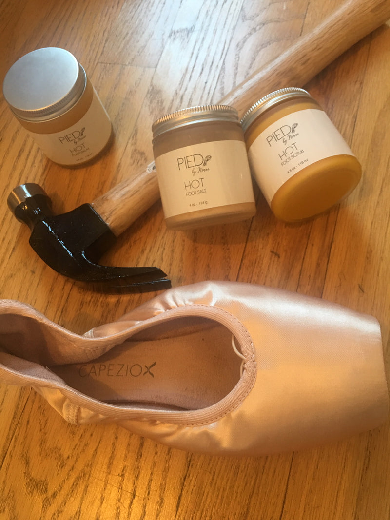 All-Natural Foot Care That Keeps A Dancer On His Toes