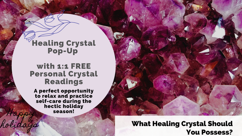 Crystal Event with 1:1 FREE Personal Crystal Readings
