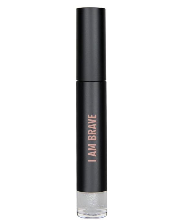 I Am Brave - Silver High Shimmer Lip Gloss - Briseis Beauty