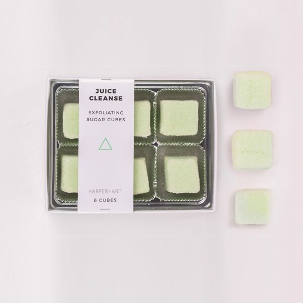 Exfoliating Sugar Cubes - Juice Cleanse Gift Box - Briseis Beauty