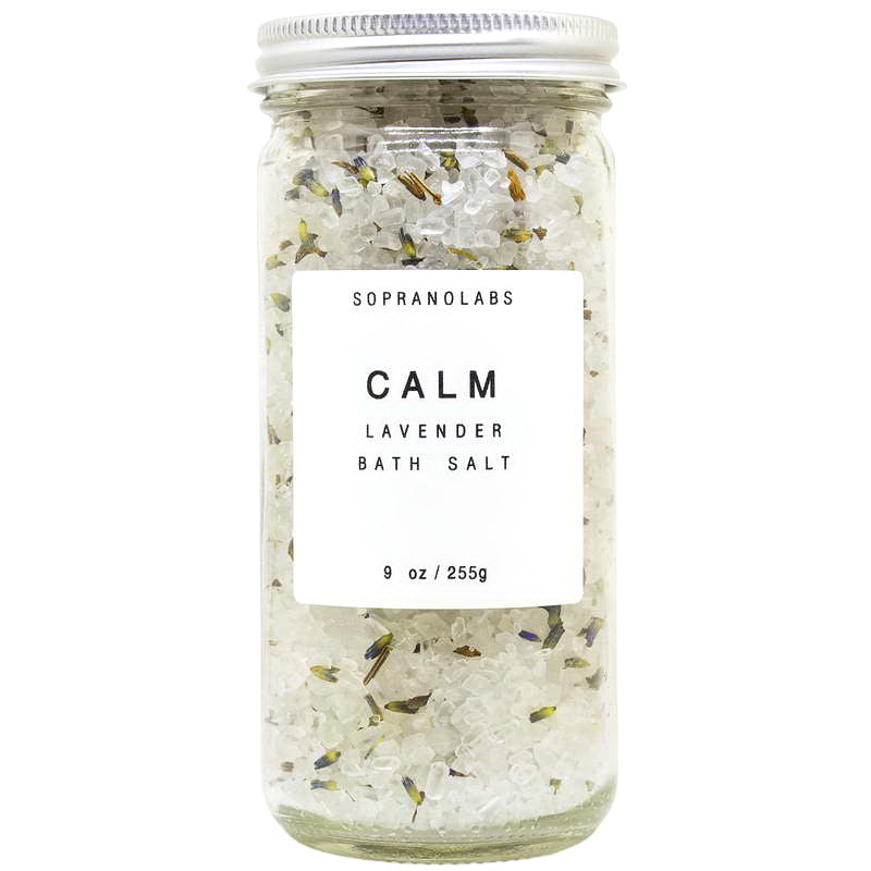 Lavender Calm Bath Salt - Briseis Beauty