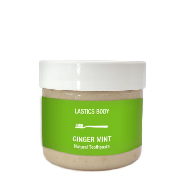 Organic Ginger Mint Natural Toothpaste - Briseis Beauty