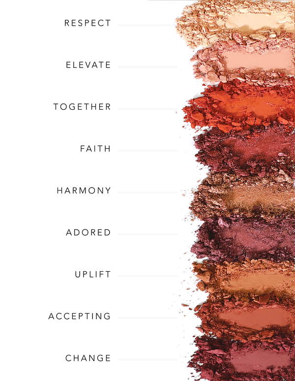 Embrace Yourself - Sunset Vibes Eye Shadow Palette - Briseis Beauty