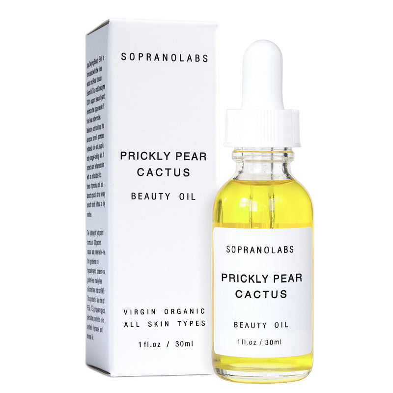 %100 Pure Prickly Pear Cactus Vegan- Natural Beauty Oil Face Serum - Briseis Beauty