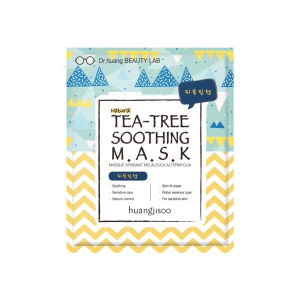 Tea-Tree Soothing Sheet Mask * 5ea - Briseis Beauty