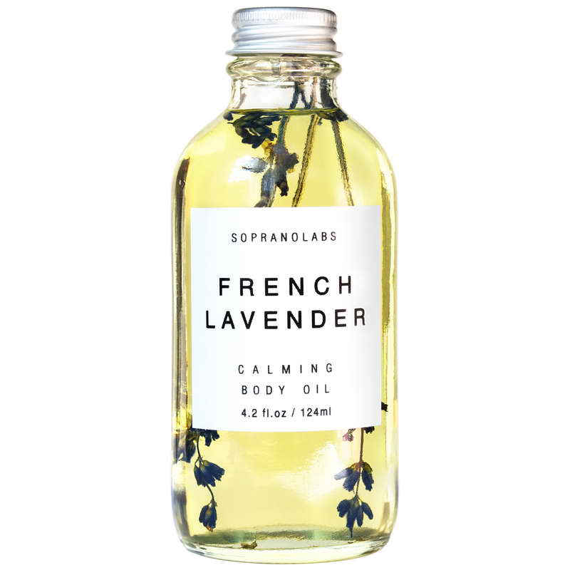 French Lavender Calming Body Oil - Briseis Beauty