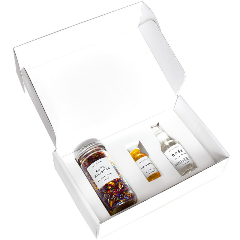 Age Repair Beauty Set. All Natural Gift Kit - Briseis Beauty