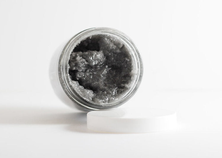 Activated Charcoal Detox Salt Scrub - Briseis Beauty