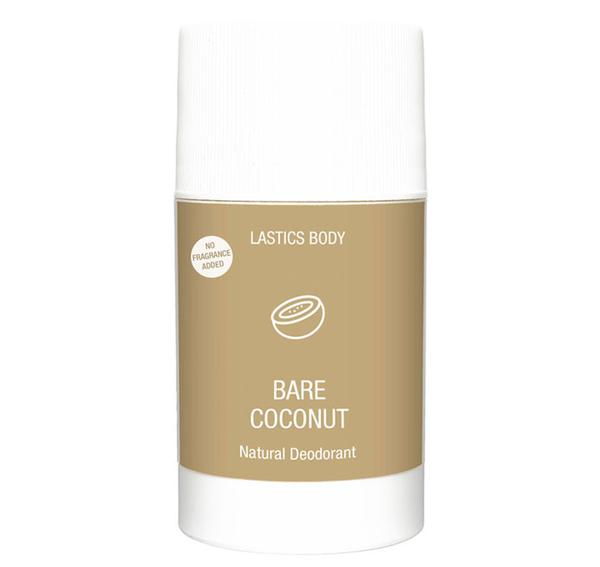 3.5oz Bare Coconut Unscented Natural Deodorant - Briseis Beauty