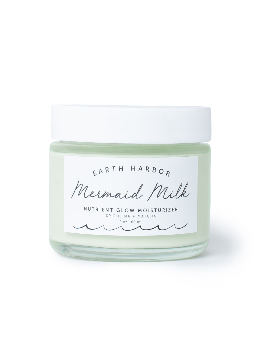 Mermaid Milk Superfood Moisturizer: Matcha + Spirulina - Briseis Beauty