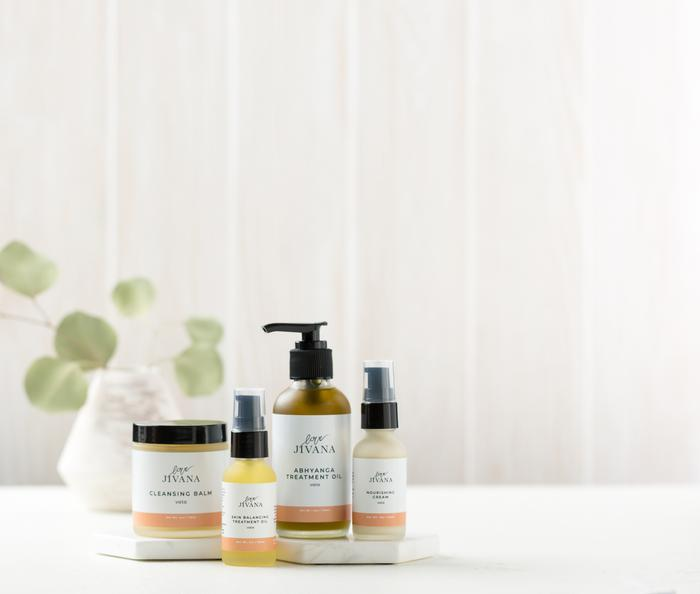 Ayurvedic Skincare Bundle- Vegan Skincare Set - Briseis Beauty