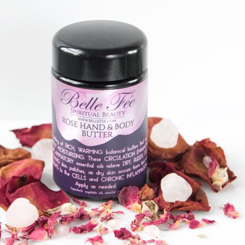 ROSE HAND & BODY BUTTER - Briseis Beauty