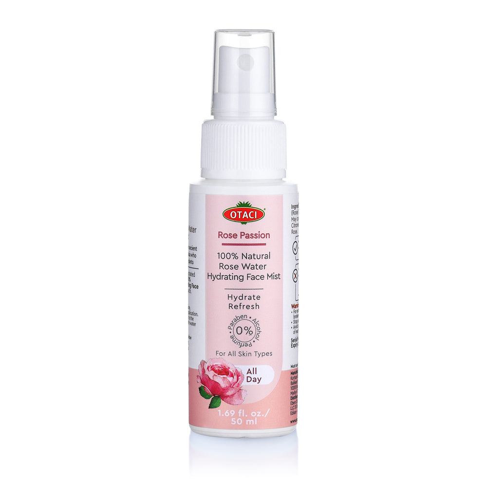 OTACI Rose Passion 100 % Natural Rose Water Hydrating Face Mist - Briseis Beauty
