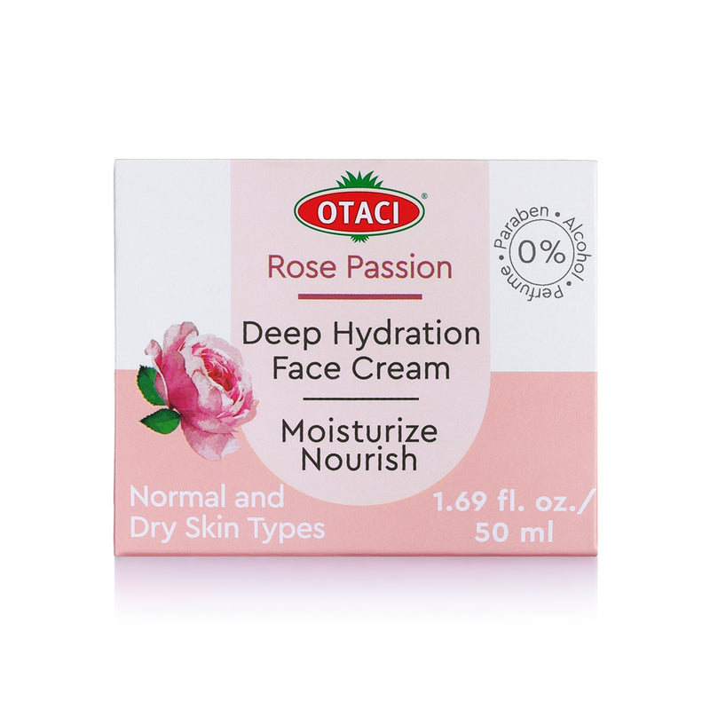 OTACI Rose Passion Deep Hydration Face Cream - Briseis Beauty