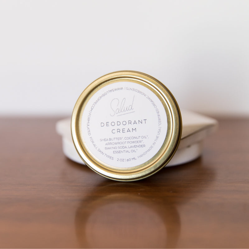 Deodorant Cream - Briseis Beauty