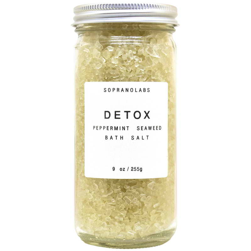 Peppermint Detox Bath Salt - Briseis Beauty