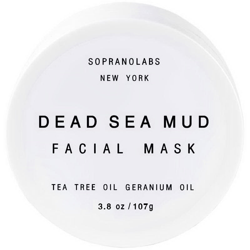 Pure Dead Sea Mud Detox Mask with Tea Tree Oil- Anti-Acne, Anti-Age, Pore Cleaning, Acne Treatment, Exfoliating Mask - Briseis Beauty