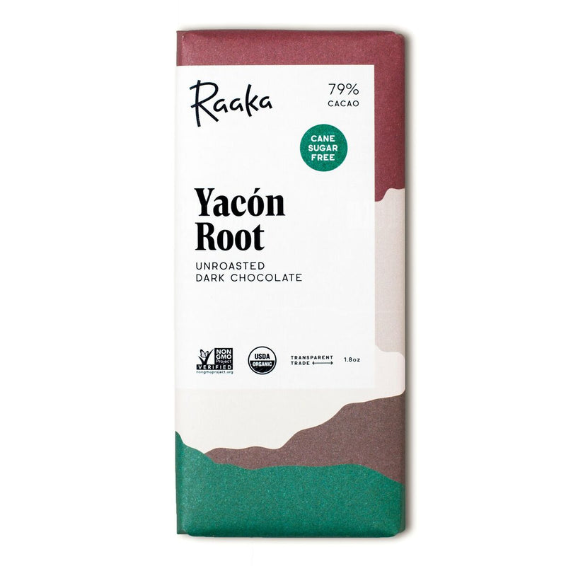 79% Yacon Root Chocolate Bar - Briseis Beauty