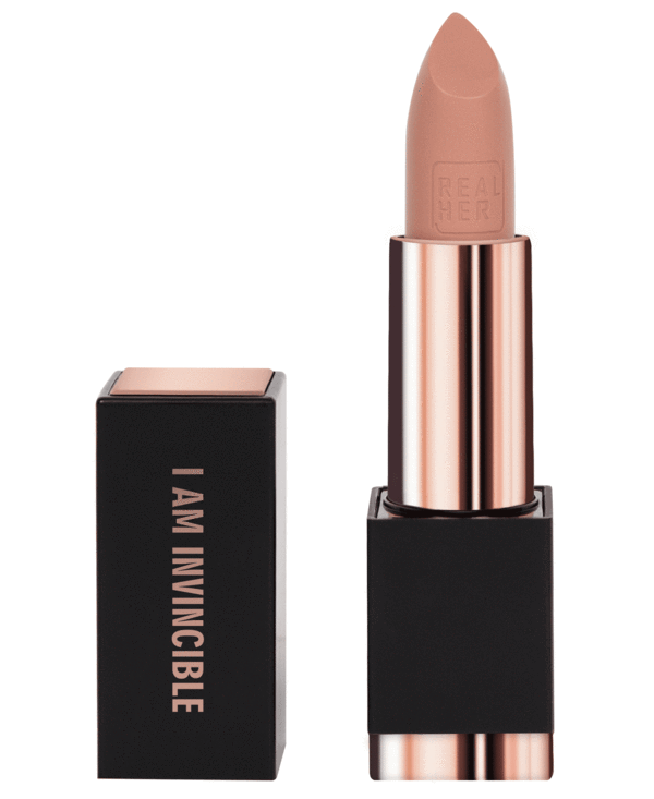 I Am Invincible - Matte Lipstick-Blush shade - Briseis Beauty