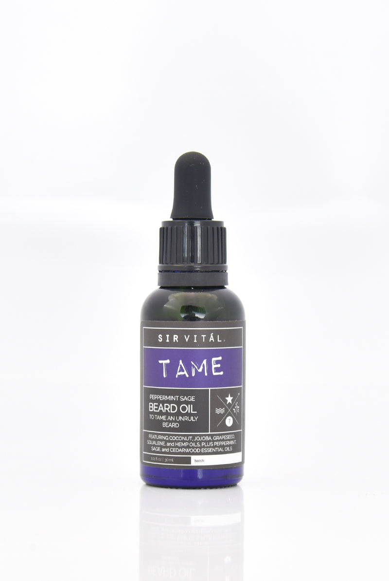 TAME Natural Beard Oil - Briseis Beauty