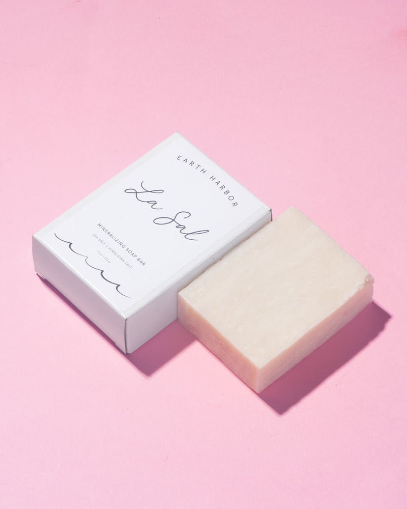 La Sal Organic Mineralizing Soap: Sea Salt + Himalayan Salt - Briseis Beauty