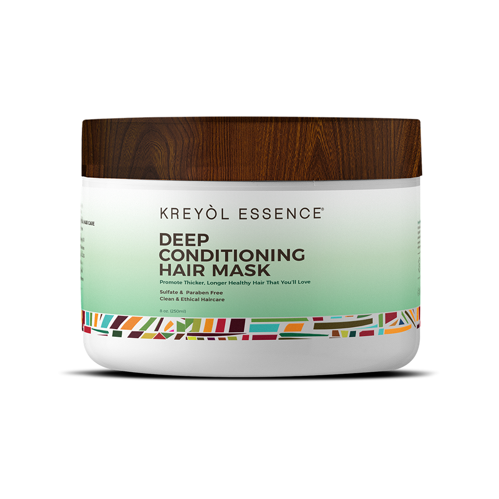 Deep Conditioning Hair Mask- Black Castor Oil 8oz - Briseis Beauty
