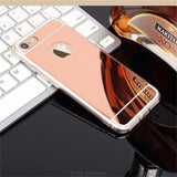 Phone Protective Case Stylish Mirror Cellphone Protection For IPHONE X 6 7 8 6S 6S PLUS 7 PLUS 8 PLUS