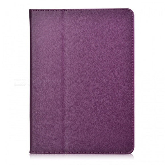 Litchi Pattern 2-Fold Protective PU Leather Case Cover Stand for Ipad AIR
