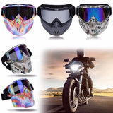 Lightweight Windproof Bike Cycling Eyewear Face Mask, Bicycle Motorcycle Goggles Glasses for Winter Sports Ski Snowboard 3