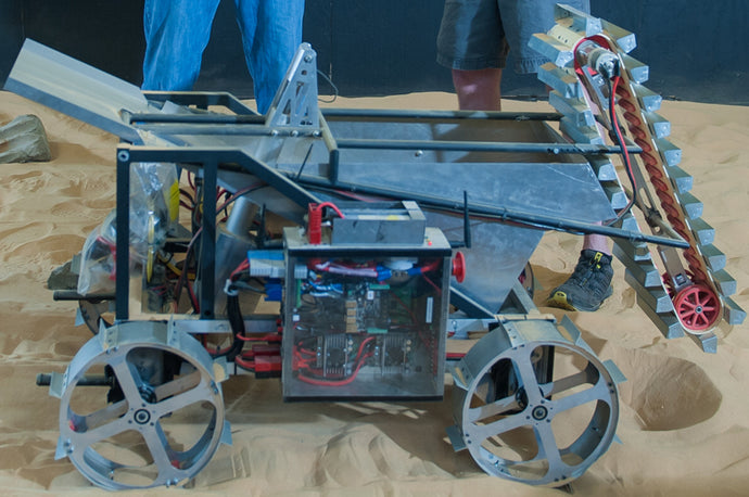 Alabama Astrobotics – the champions of NASA's Robotic Mining Competition
