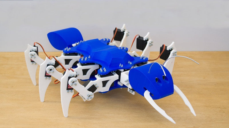 Do you like insects? Now you can have your own Arduino Ant Bot!