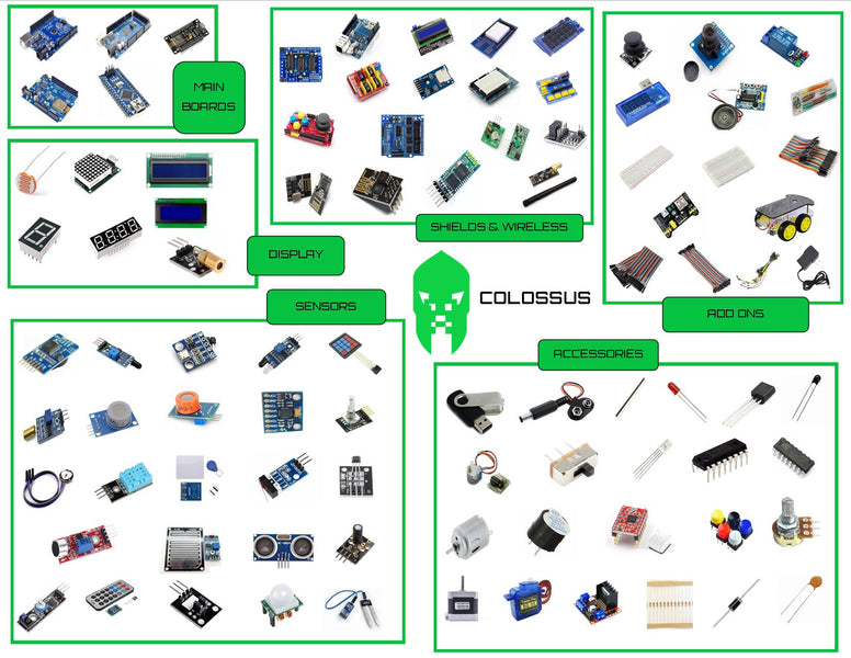 Earth's Biggest Starter Kit for Arduino - The Colossus