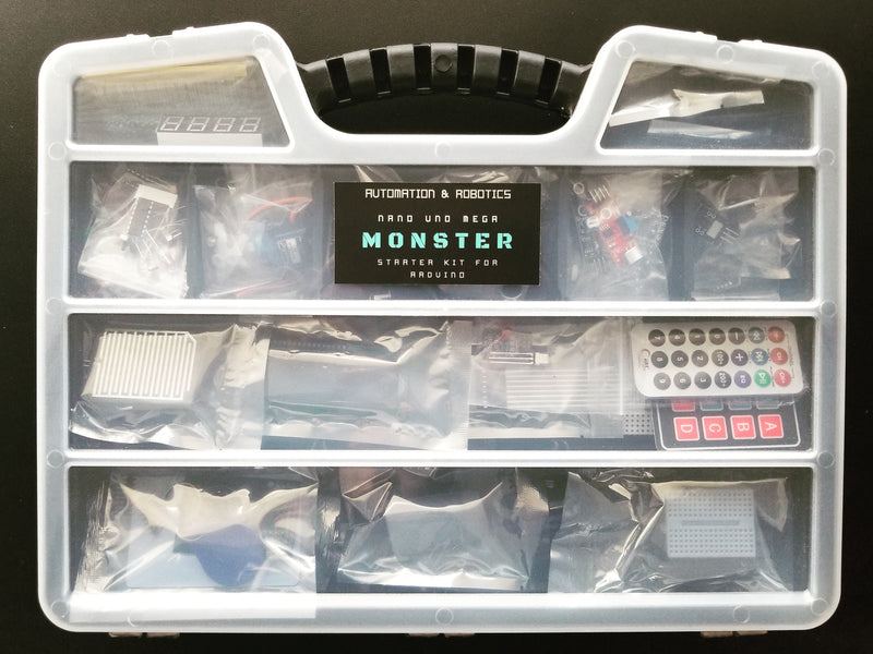 Earth's Biggest Starter Kit for Arduino. The Monster Kit.