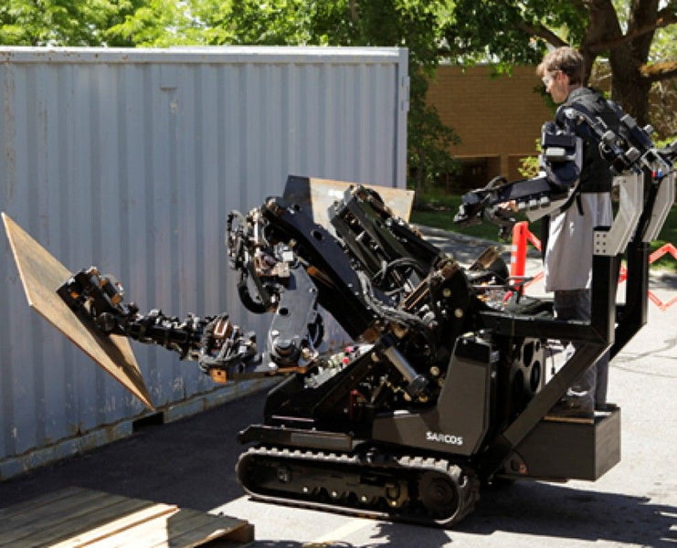 Making of the Superhuman with the SARCOS Guardian GT Industrial Robot.