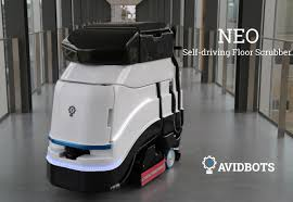Neo: Your Friendly Robot Commercial Floor Scrubber.